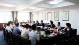 台湾海峡两岸商务协调会代表团访问我中心