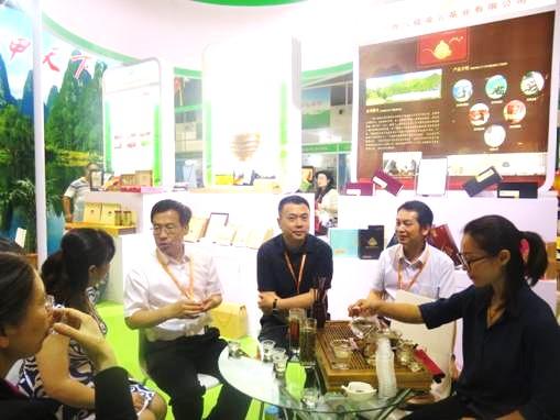 展团风采:广西组团参加第十届中国国际有机食品博览会