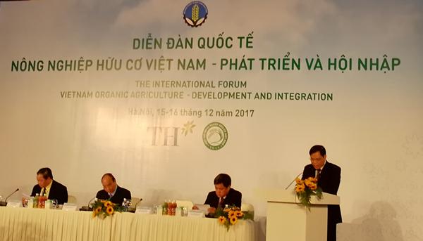 越南有机农业发展国际论坛在越南首都河内召开